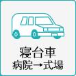 寝台車病院→式場